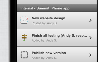 Summit - Basecamp for iPhone